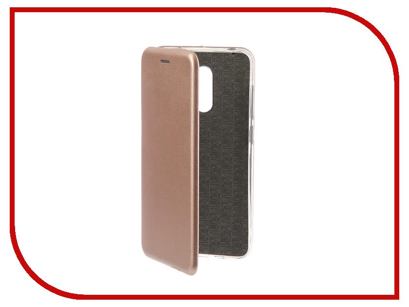 Купить Аксессуар Чехол для Xiaomi Pocophone F1 Innovation Book Silicone Magnetic Rose Gold 13449