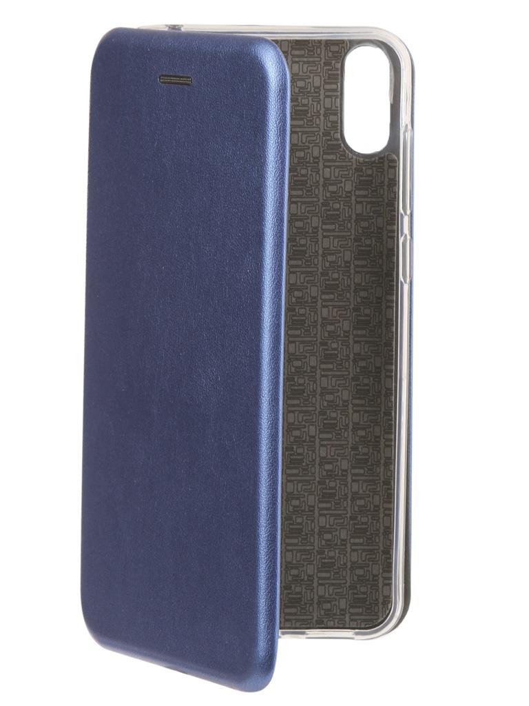 аксессуар чехол zibelino для asus zenfone max pro m1 zb602kl book black zb asus zb602kl blk Аксессуар Чехол Neypo для ASUS ZenFone Max Pro (M1) ZB602KL Premium Blue NSB5952