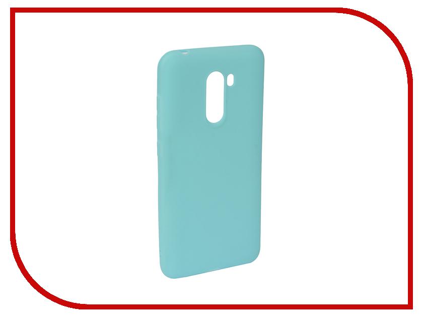 Купить Аксессуар Чехол для Xiaomi Pocophone F1 Neypo Soft Matte Turquoise NST5846