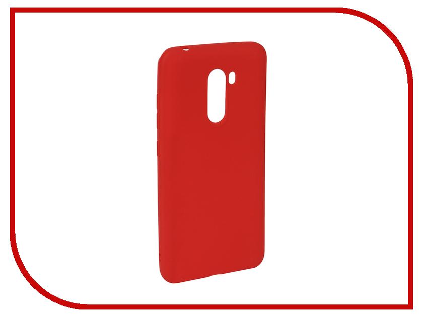 Купить Аксессуар Чехол для Xiaomi Pocophone F1 Neypo Soft Matte Red NST5847