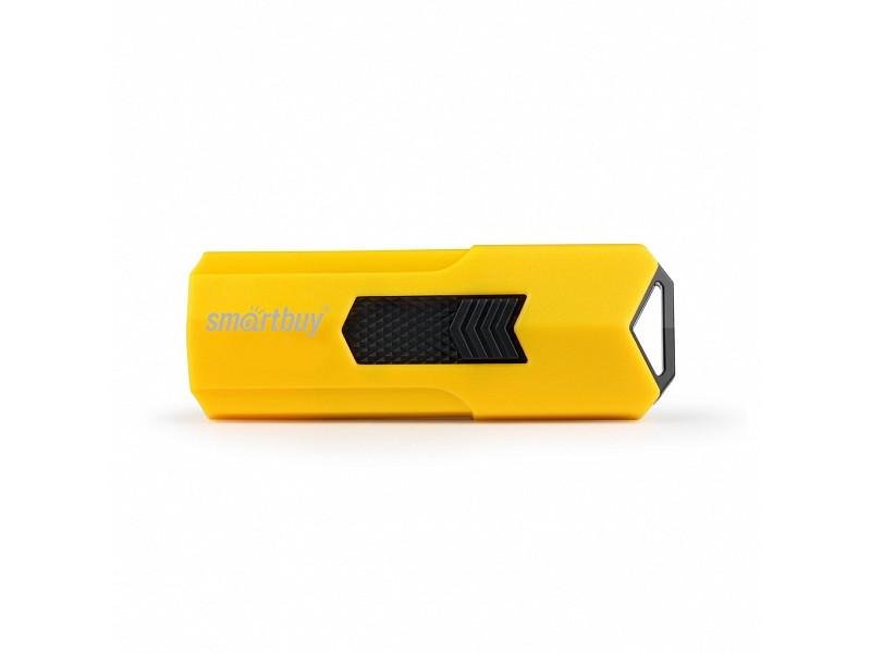 smartbuy клавиатура беспроводная USB Flash Drive 32Gb - SmartBuy Stream Yellow SB32GBST-Y