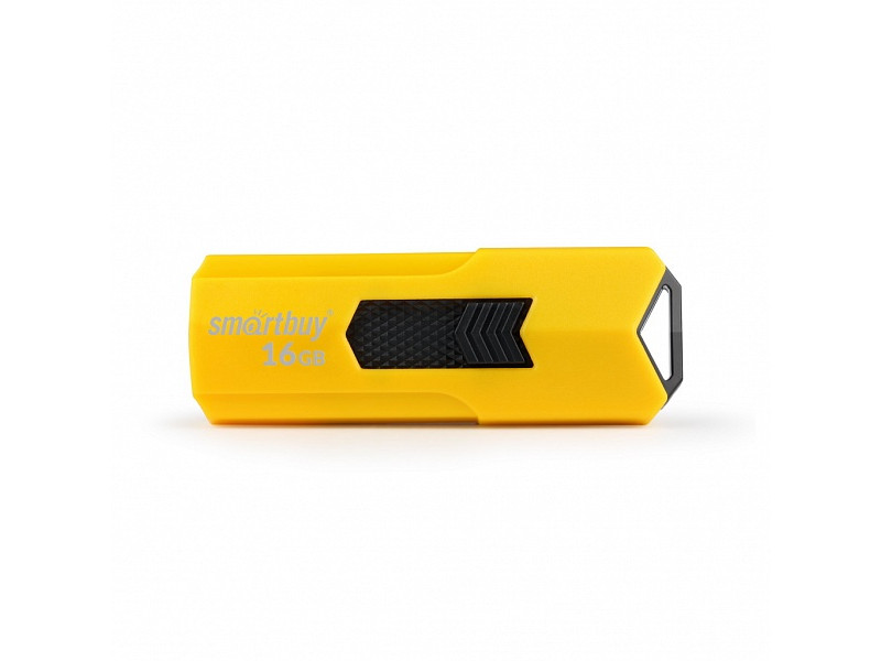 Фото - USB Flash Drive 16Gb - SmartBuy Stream Yellow SB16GBST-Y smartbuy usb drive 16gb lara red sb16gblara r