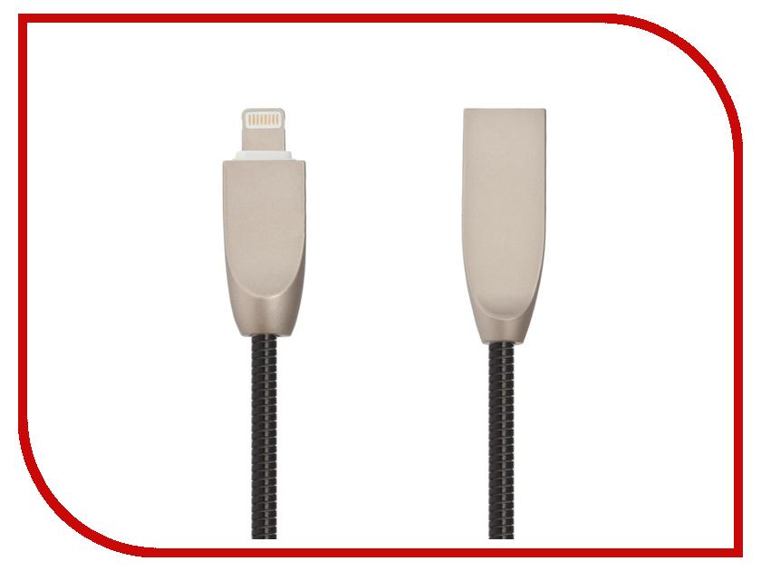 Купить Аксессуар Liberty Project для USB-Lightning 8 pin Панцирь 1m Black 0L-00040508