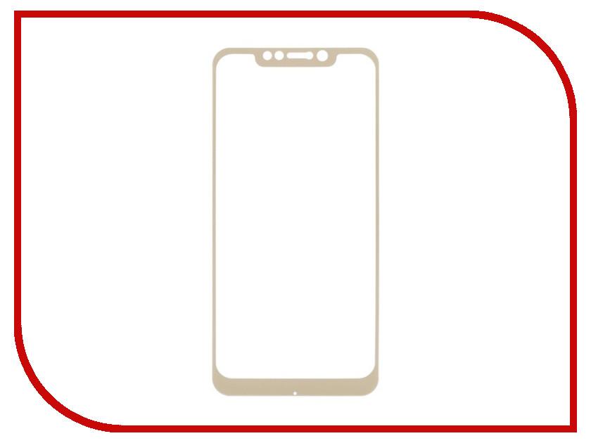 Купить Аксессуар Защитное стекло для Xiaomi Pocophone F1 Liberty Project Tempered Glass 0.33mm Gold Frame 0L-00040661