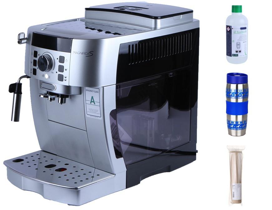 Кофемашина DeLonghi Magnifica S ECAM 22.110.SB New Выгодный набор + серт. 200Р!!!