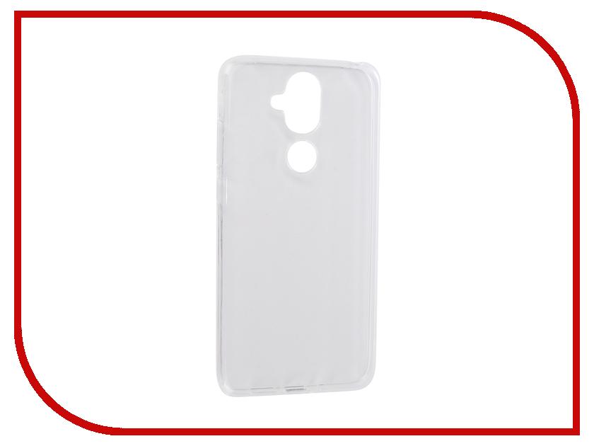 Купить Аксессуар Чехол для Nokia 8.1 2019 Zibelino Ultra Thin Case Transparent ZUTC-NOK-8.1-WHT