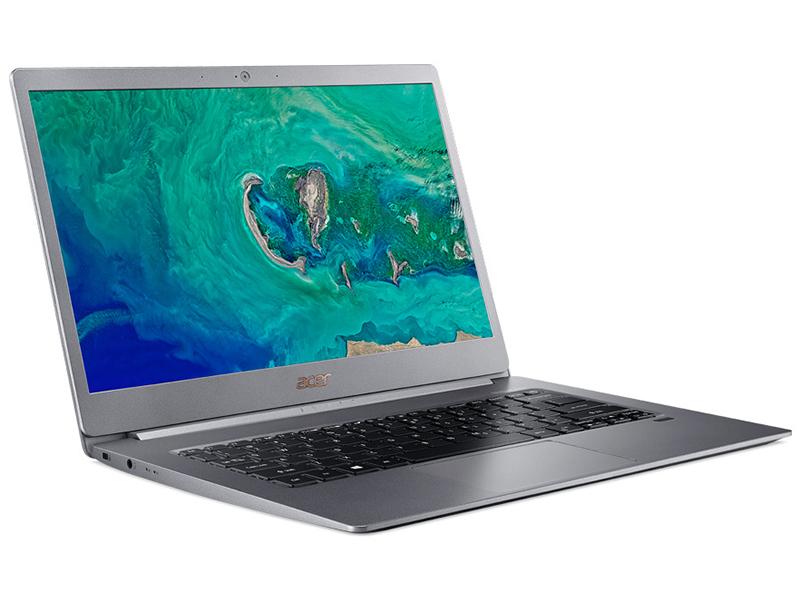 ноутбук dell xps 13 silver 9365 5492 intel core i7 8500y 1 5 ghz 16384mb 512gb ssd intel hd graphics wi fi bluetooth cam 13 3 3200x1800 touchscreen windows 10 home 64 bit Ноутбук Acer Swift 5 SF514-53T-784C NX.H7KER.002 (Intel Core i7-8565U 1.8 GHz/16384Mb/512Gb SSD/Intel HD Graphics/Wi-Fi/Bluetooth/Cam/14.0/1920x1080/Touchscreen/Windows 10 64-bit)