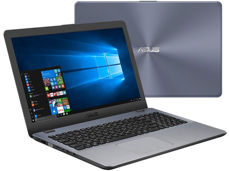ноутбук asus vivobook s510uf bq606 90nb0ik5 m10780 intel core i3 8130u 2 2 ghz 6144mb 1000gb intel hd graphics wi fi bluetooth cam 15 6 1920x1080 endless Ноутбук ASUS VivoBook X542UF-DM260T Dark Grey 90NB0IJ2-M08020 (Intel Core i3-8130U 2.2 GHz/4096Mb/1000Gb/nVidia GeForce MX130 2048Mb/Wi-Fi/Bluetooth/Cam/15.6/1920x1080/Windows 10 Home 64-bit)