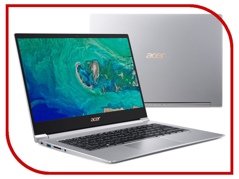 Купить Ноутбук Acer Swift 3 SF314-55G-53B0 Silver NX.H3UER.001 (Intel Core i5-8265U 1.6 GHz/8192Mb/256Gb SSD/nVidia GeForce MX150 2048Mb/Wi-Fi/Bluetooth/Cam/14.0/1920x1080/Linux)