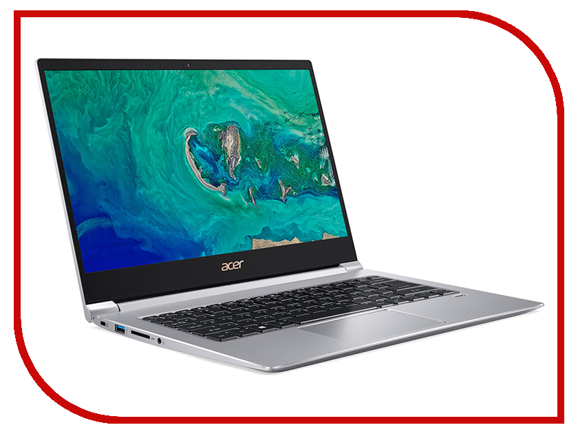 Купить Ноутбук Acer Swift 3 SF314-55-72FH Silver NX.H3WER.010 (Intel Core i7-8565U 1.8 GHz/8192Mb/512Gb SSD/Intel UHD Graphics 620/Wi-Fi/Bluetooth/Cam/14.0/1920x1080/Linux)