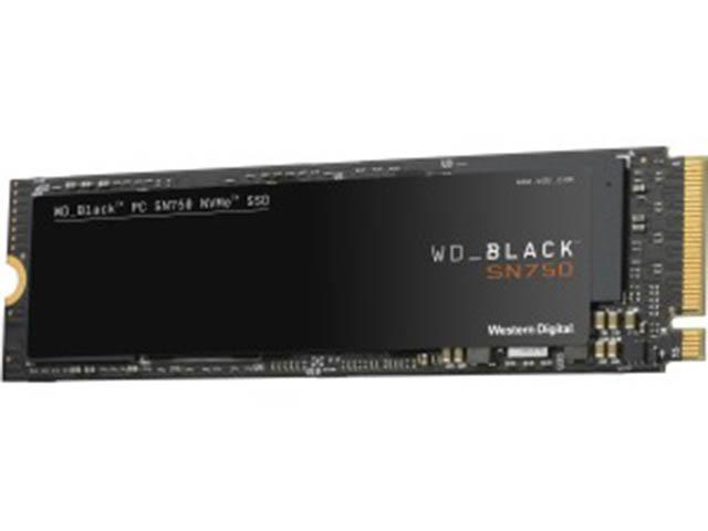 Твердотельный накопитель Western Digital WD SN750 NVME 1Tb Black WDS100T3X0C