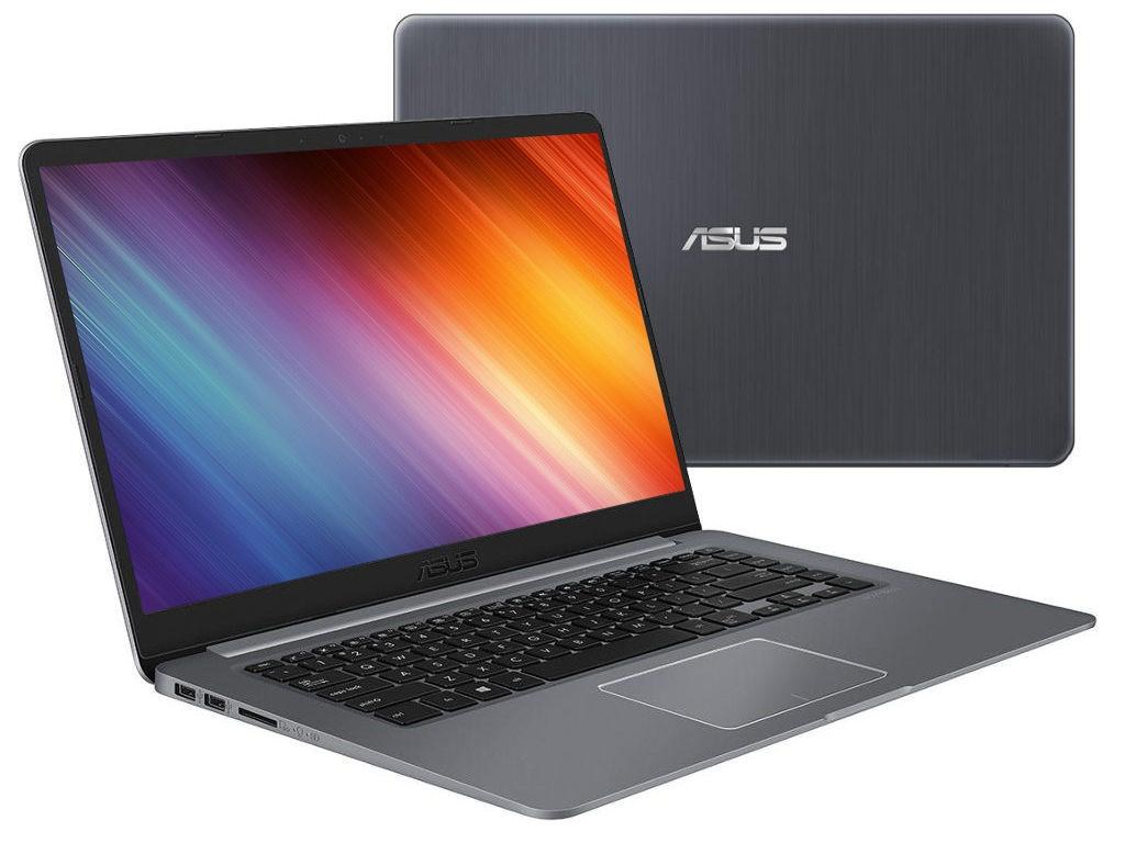 ноутбук asus vivobook s510uf bq606 90nb0ik5 m10780 intel core i3 8130u 2 2 ghz 6144mb 1000gb intel hd graphics wi fi bluetooth cam 15 6 1920x1080 endless Ноутбук ASUS S510UA-BQ1241 90NB0FQ5-M21090 Grey Metal (Intel Core i3 8130U 2.2Ghz/6144Mb/256Gb SSD/Intel HD Graphics 620/Wi-Fi/Bluetooth/Cam/15.6/1920x1080/Endless OS)