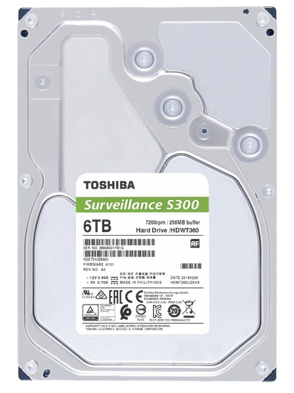 жесткий диск toshiba hdwt31auzsva 10tb Жесткий диск Toshiba HDWT360UZSVA
