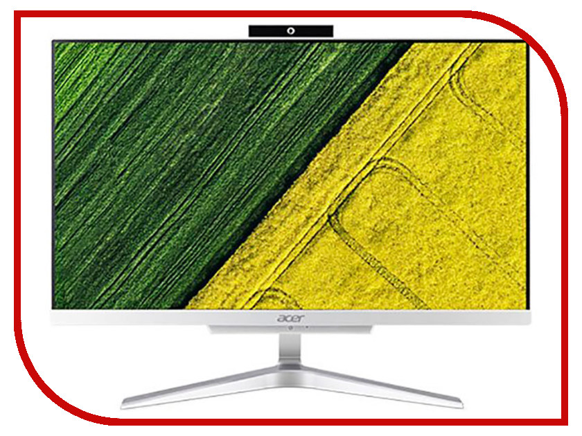 Купить Моноблок Acer Aspire C22-865 Silver DQ.BBSER.004 (Intel Core i5-8250U 1.6 GHz/4906Mb/1Tb/UHD Graphics 620/Wi-Fi/Cam/21.5/1920x1080/Endless OS)