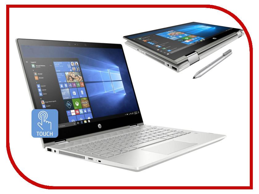 Купить Ноутбук HP Pavilion x360 14-cd1002ur Silver 5CR31EA (Intel Core i7-8565U 1.8 GHz/12288Mb/1000Gb+128Gb SSD/nVidia GeForce MX130 4096Mb/Wi-Fi/Bluetooth/Cam/14.0/1920x1080/Touchscreen/Windows 10 Home 64-bit), HP (Hewlett Packard)