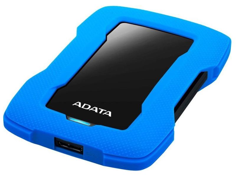 Жесткий диск ADATA HD330 2TB Blue AHD330-2TU31-CBL внешний жесткий диск hdd a data usb 3 0 2tb ahd330 2tu31 cbl hd330 dashdrive durable 2 5 синий