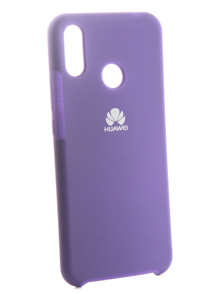 аксессуар чехол innovation для huawei nova 3 black 14275 Аксессуар Чехол Innovation для Huawei Nova 3i Silicone Purple 13560