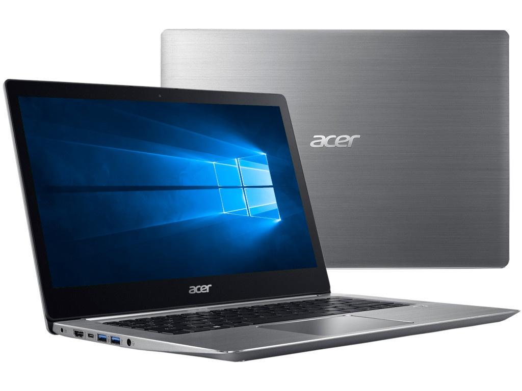 Ноутбук Acer Swift 3 SF314-52-502T Silver NX.GNUER.002 (Intel Core i5-7200U 2.5 GHz/8192Mb/256Gb SSD/No ODD/Intel HD Graphics/Wi-Fi/Bluetooth/Cam/14.0/1920x1080/Windows 10 64-bit)  - купить со скидкой