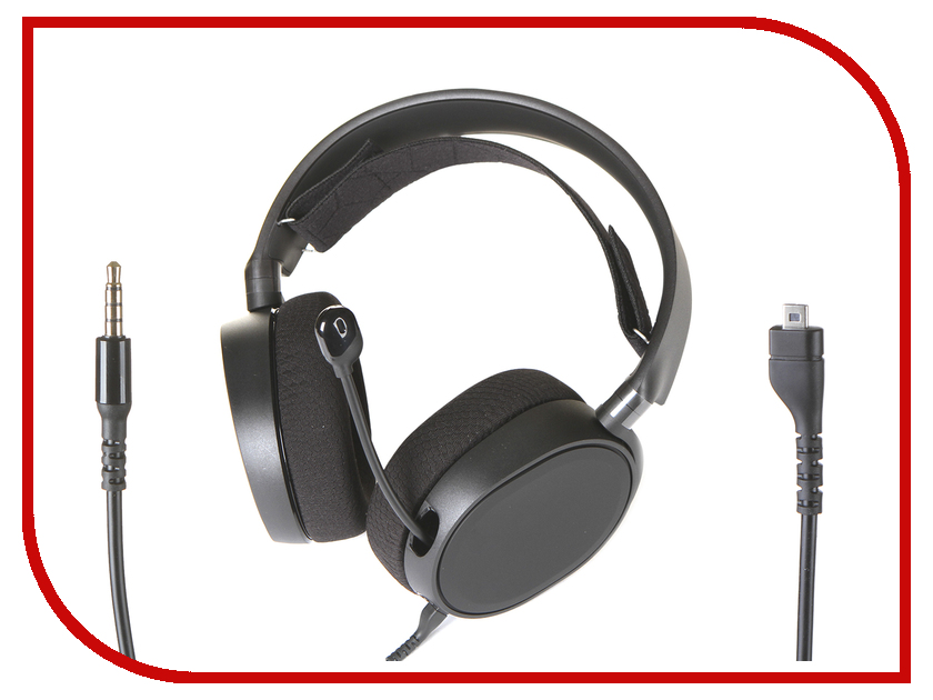 Купить SteelSeries Arctis 3 2019 Edition Black 61503