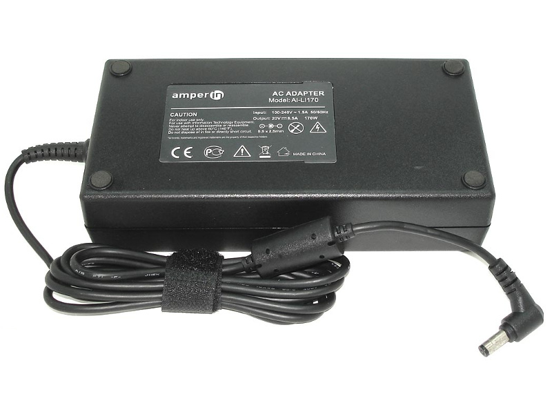 блок питания amperin ai hp90c для hp pavilion 15 e 15 n series hp 19 5v 4 62a 4 5x3 0mm 90w Блок питания Amperin AI-LI170 для Lenovo 20V 8.5A 5.5x2.5mm 65W