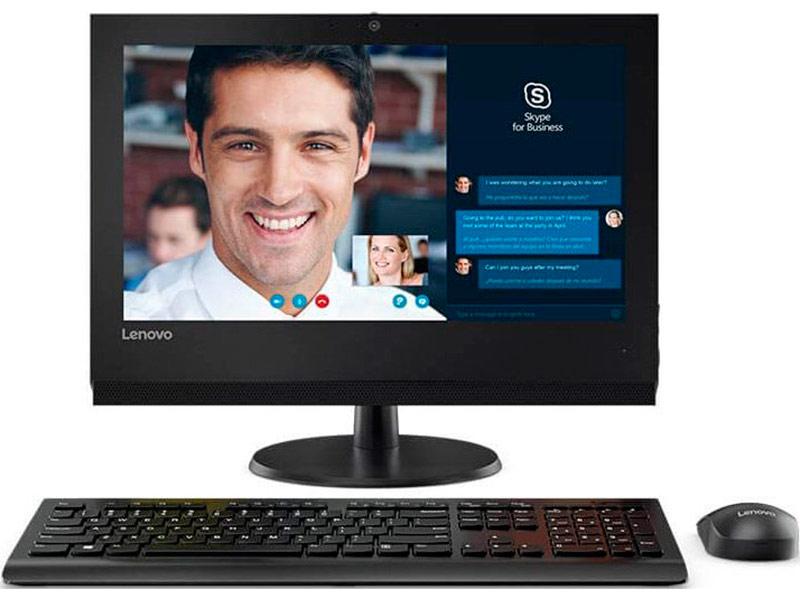 моноблок lenovo v510z Моноблок Lenovo V310Z 10QG004LRU Black (Intel Core i3 7100 3.9 GHz/4096Mb/1Tb/HD Graphics 630/Wi-Fi/Bluetooth/Cam/19.5/1600x900/Windows 10)