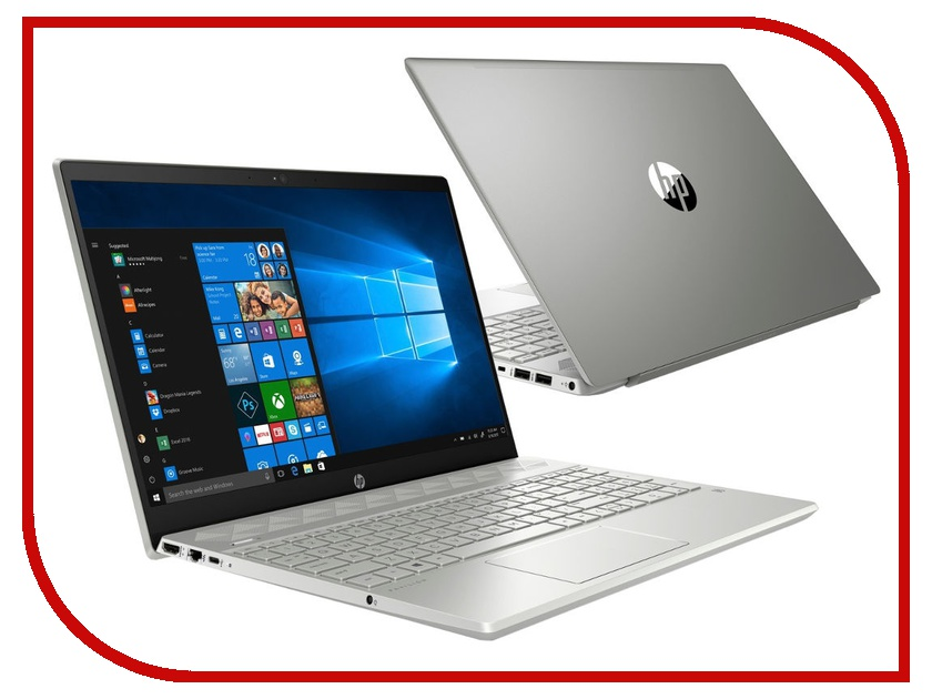 Купить Ноутбук HP Pavilion 15-cw0011ur Mineral Silver 4JV66EA (AMD Ryzen 3 2300U 2.0 GHz/4096Mb/1000Gb/AMD Radeon Vega 6/Wi-Fi/Bluetooth/Cam/15.6/1920x1080/Windows 10 Home 64-bit), HP (Hewlett Packard)