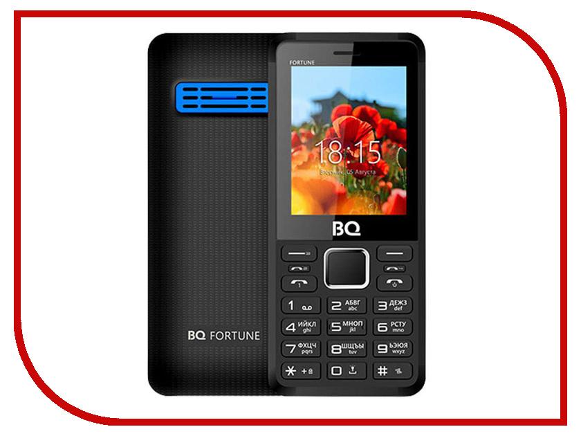 Купить Сотовый телефон BQ BQ-2436 Fortune Power Black-Blue