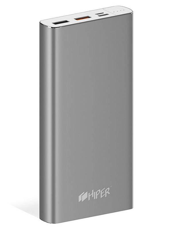 Купить Внешний аккумулятор Hiper Power Bank MPX15000 15000mAh Space Grey, MPX15000 SPACE GRAY