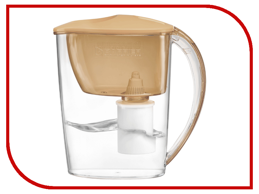 Купить Фильтр для воды Барьер Тренд Caramel Cappuccino