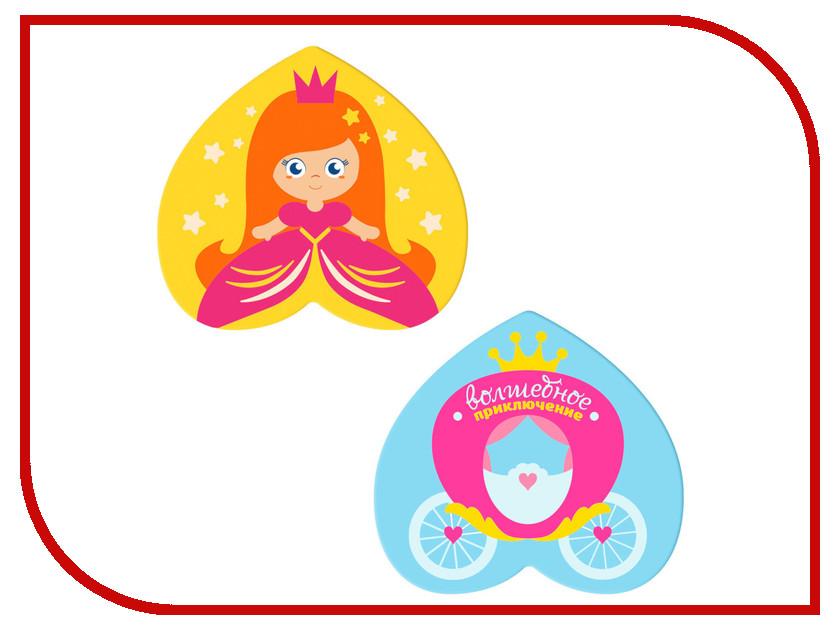 Купить Коврик в ванную на присосках Крошка Я Принцесса Набор 2шт 3253266
