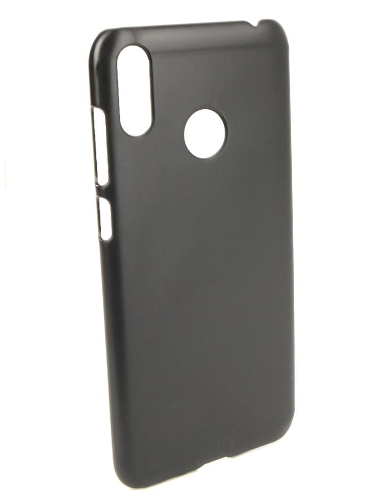 сотовый телефон asus zenfone max m2 zb633kl 64gb blue Аксессуар Чехол Zibelino для ASUS ZenFone Max M2 ZB633K 2018 Hard Plast Black ZHP-ASU-ZB633KL-BLK