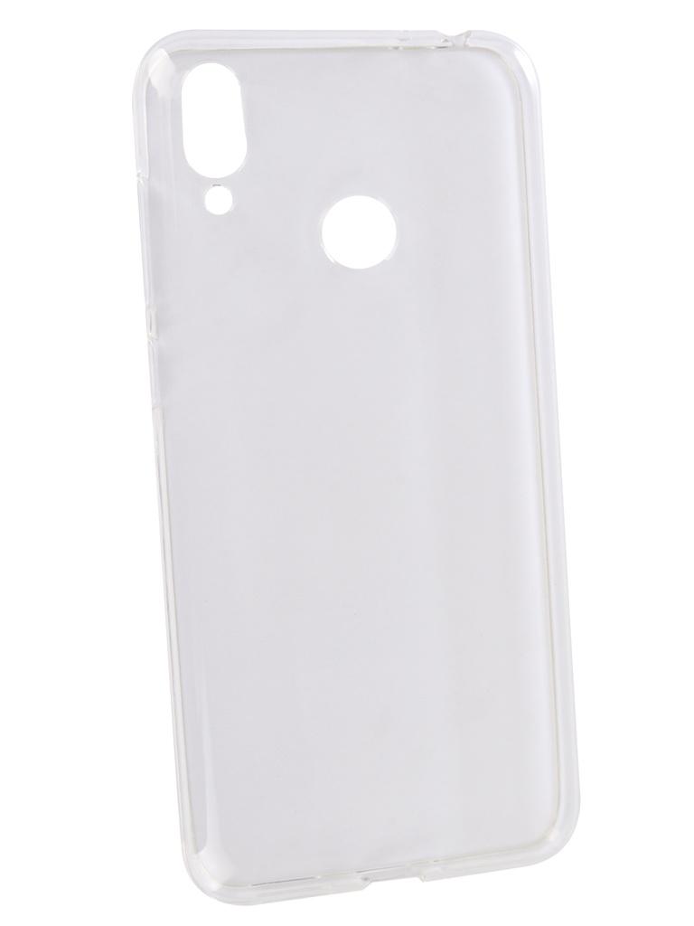 сотовый телефон asus zenfone max m2 zb633kl 64gb blue Аксессуар Чехол Zibelino для ASUS Zenfone Max M2 ZB633KL 2018 Ultra Thin Case Transparent ZUTC-ASU-ZB633KL-WH