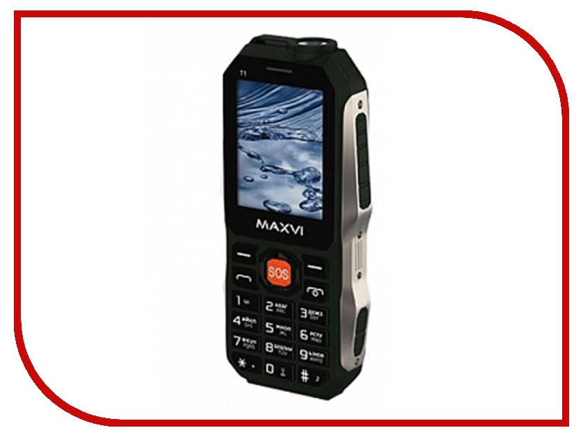Купить Сотовый телефон MAXVI T1 Green