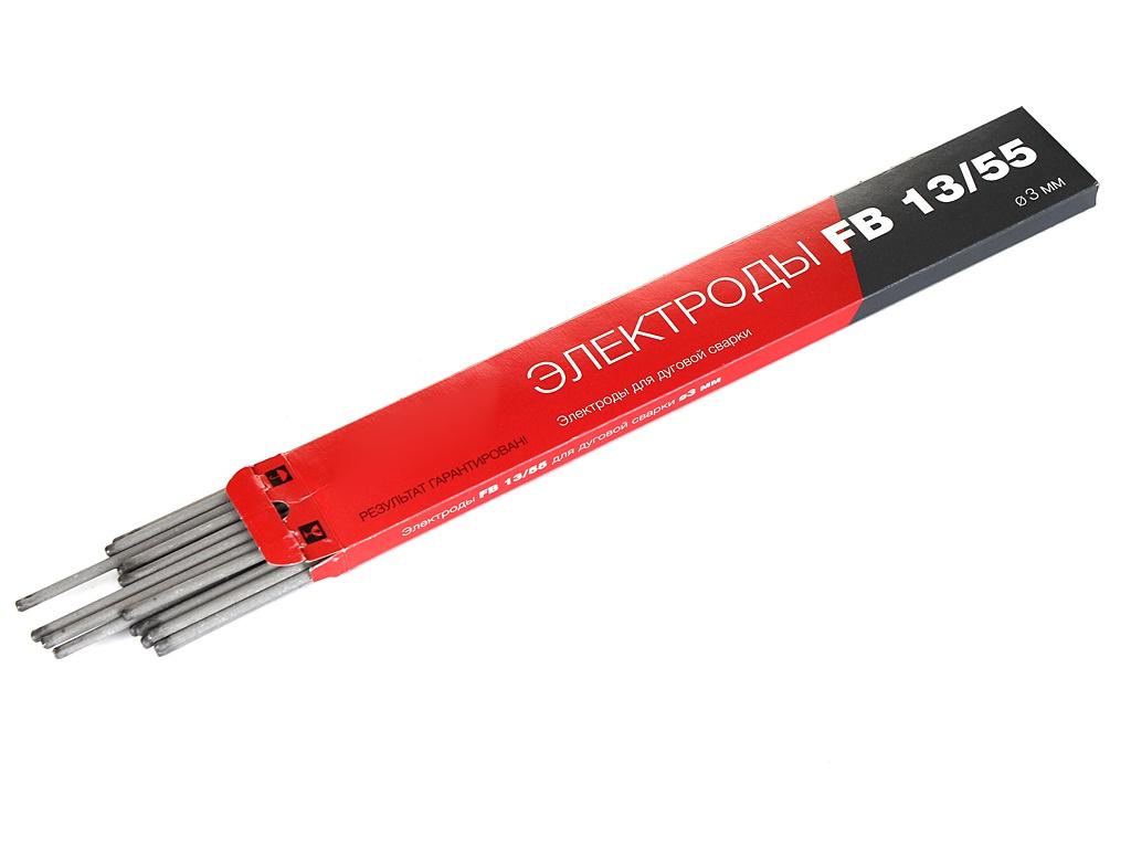 Электроды с основным покрытием Fubag FB 13/55 D3.0mm пачка 900гр 38881