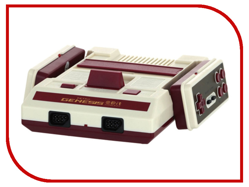 Купить Игровая приставка Dendy Retro Genesis 8 Bit Classic + 300 игр