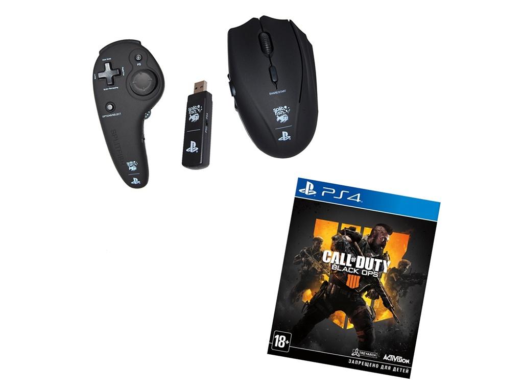 Комплект геймера Frag FX Shark + Call of Duty: Black Ops 4 (Russian version) ACPS3F4 для для Sony Playstation 4