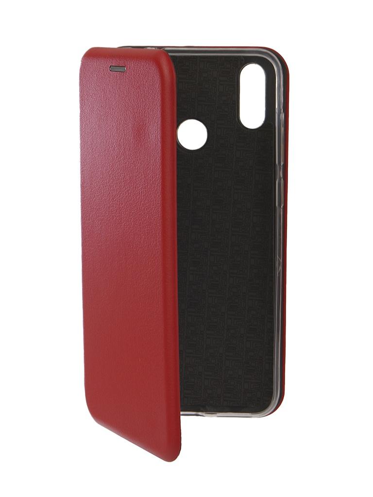 сотовый телефон asus zenfone max m2 zb633kl 64gb blue Аксессуар Чехол Neypo для ASUS ZenFone Max M2 ZB633KL Premium Red NSB7013