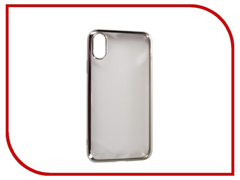 Купить Аксессуар Чехол для APPLE iPhone XR Neypo Aura Silicone Silver Metallic NSTA5141