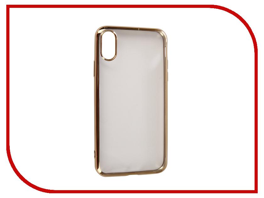 Купить Аксессуар Чехол для APPLE iPhone XR Neypo Aura Silicone Gold Metallic NSTA5139