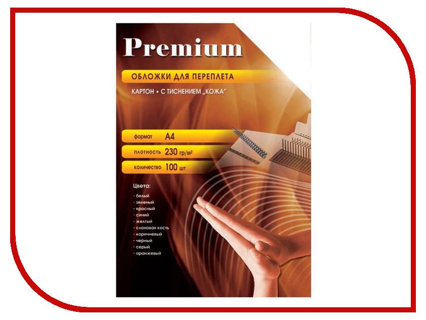 Купить Обложки для переплета Office Kit A4 100шт кожа Yellow CYA400230