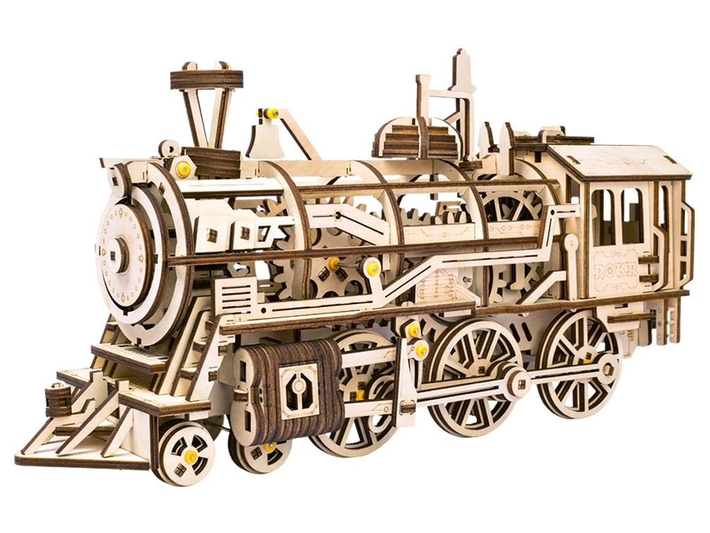 часы цена самсунг gear s Сборная модель DIY House Mechanical Gear-Locomotive LK701