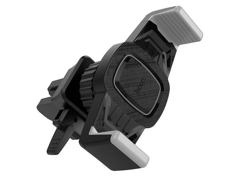 Купить Держатель Hoco CA38 Platinum Sharp Air Outlet Black-Grey