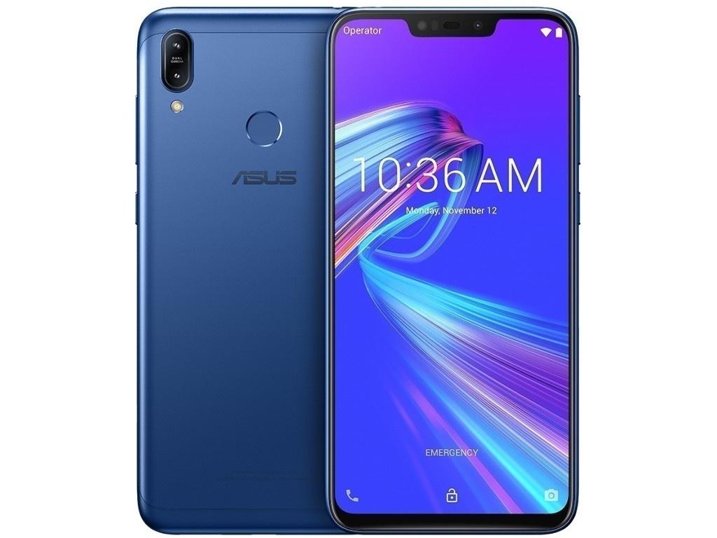 zenfone go zb500kg 8 гб Сотовый телефон ASUS ZenFone Max M2 ZB633KL 64Gb Blue