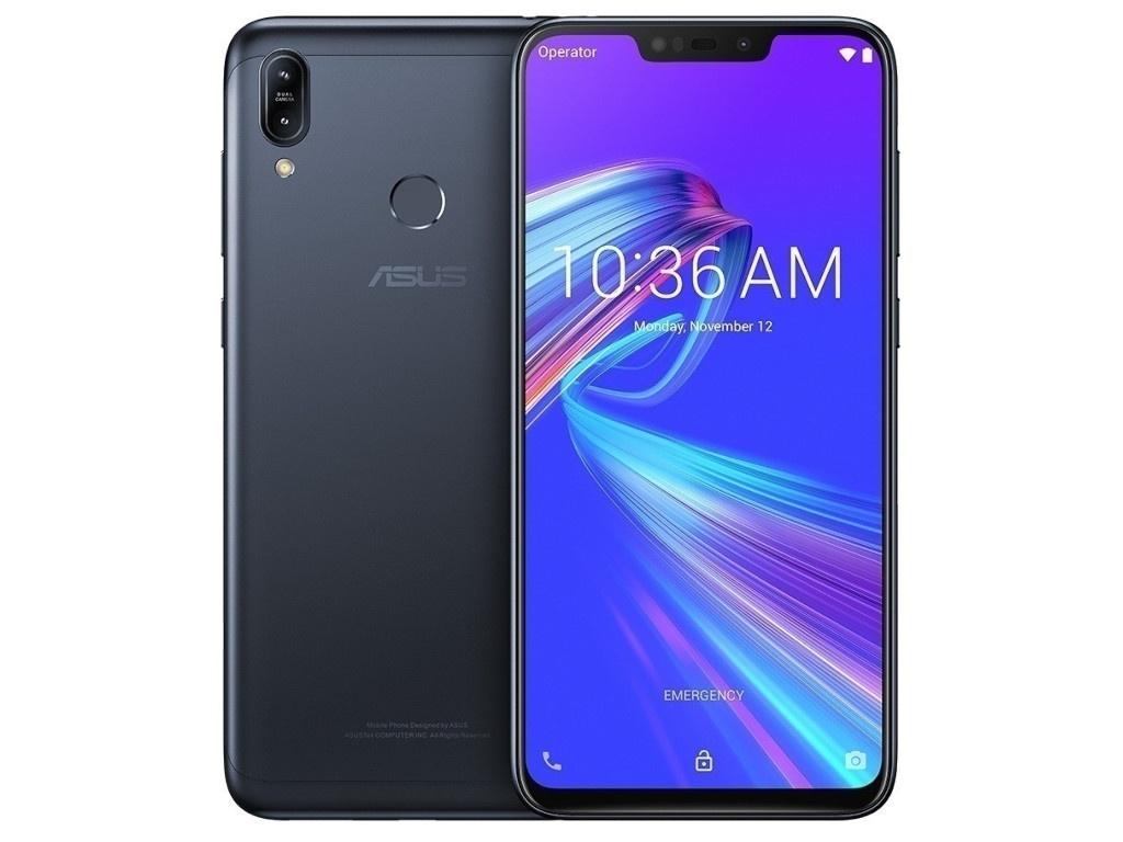 zenfone go zb500kg 8 гб Сотовый телефон ASUS ZenFone Max M2 ZB633KL 64Gb Black