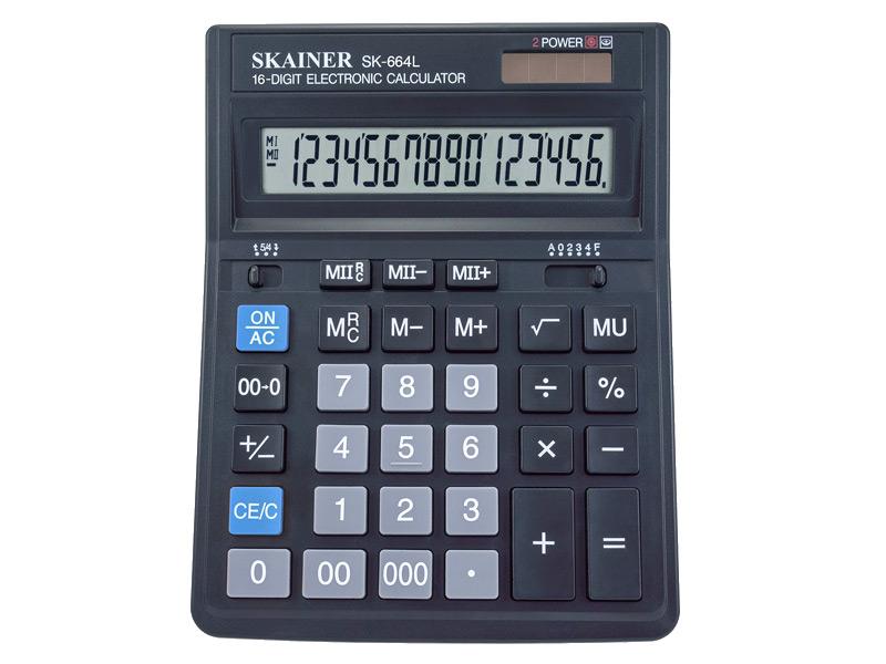 купить калькулятор citizen sdc 554s Калькулятор Skainer SK-664L