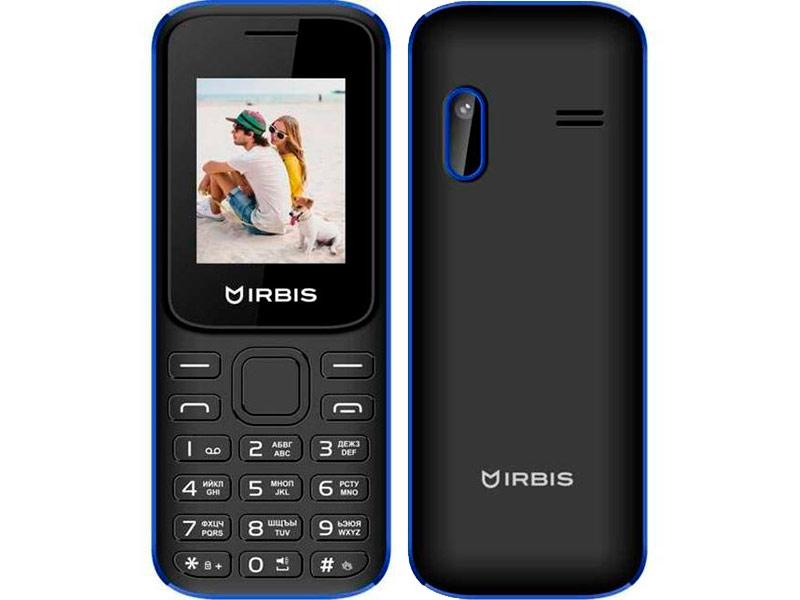 сотовый телефон fly slimline black blue Сотовый телефон Irbis SF31 Black-Blue