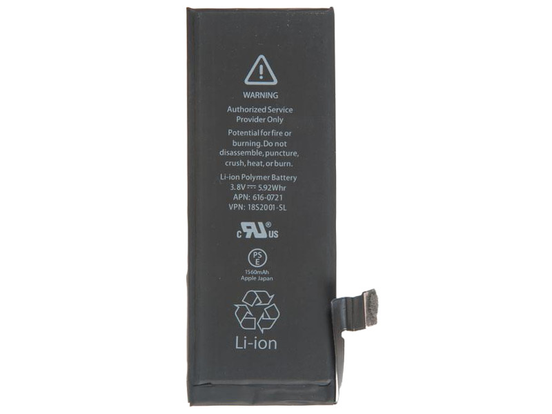 Аккумулятор RocknParts для APPLE iPhone 5S 630176