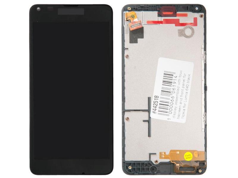 купить вспышка lumia 1020 Дисплей RocknParts для Nokia Lumia 640 Black 442518