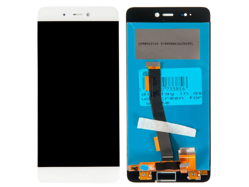 дисплей rocknparts zip для xiaomi mi max 2 black Дисплей RocknParts для Xiaomi Mi 5S White 586834