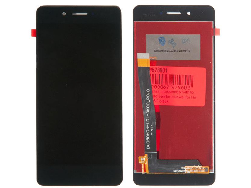 дисплей rocknparts для huawei honor 9 lite black 611077 Дисплей RocknParts для Huawei Honor 6C Black 578901